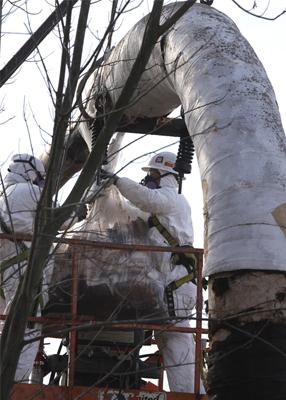 asbestos investigation